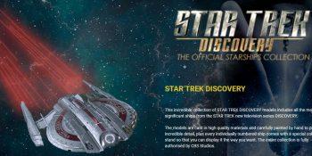 Star Trek Discovery Ships Models