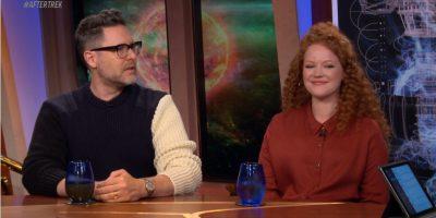 After Trek S0102 Aaron Harberts e Mary Wiseman