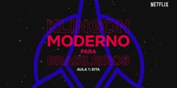 Aula de klingon para brasileiros