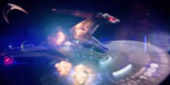 """Discovery S01E08 """"Si Vis Pacem, Para Bellum - Gagarin atingida por nave klingon"""