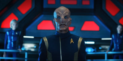 Star Trek Discovery S01E13 What's Past is Prologue - Capitão Saru