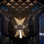 Star Trek Discovery S01E12 Vaulting Ambition - Burnham e a Imperatriz em reunião
