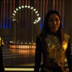 Star Trek Discovery S01E12 Vaulting Ambition - Imperatriz e Burnham na sala do trono