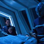 Star Trek Discovery S01E12 Vaulting Ambition - L'Rell opera Tyler-Voq bem vigiada