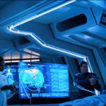 Star Trek Discovery S01E12 Vaulting Ambition - L'Rell opera Tyler-Voq na presensa de Saru