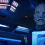 Star Trek Discovery S01E12 Vaulting Ambition - Saru mostra a dor de Tyler