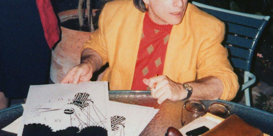 Harlan Ellison no LA Press Club