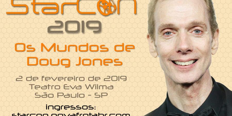 Mensagem de Doug Jones para fãs brasileiros