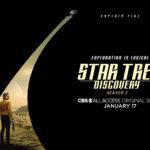 Star Trek Discovery Segunda Temporada Poster Pike