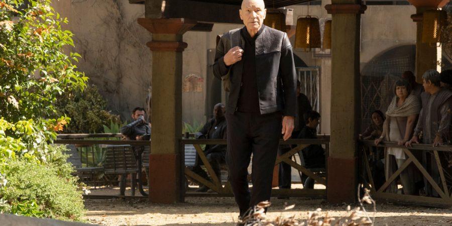 PICS01E04 - Picard chegando na vila dos romulanos em Vasti