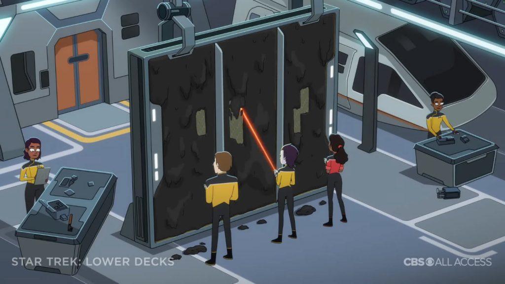 Trabalho duro - Star Trek: Lower Deck Trailer
