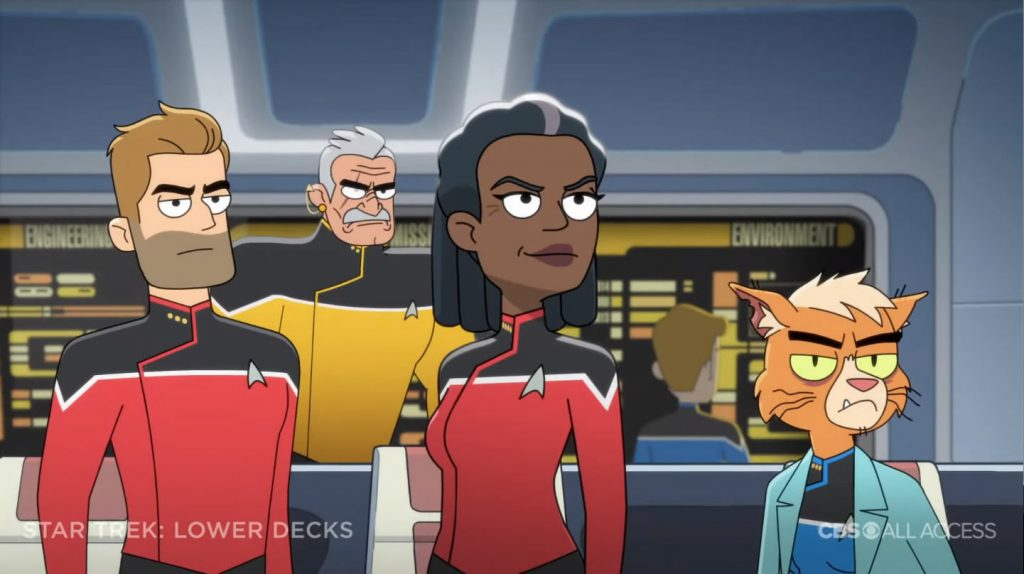 Tripulação da Ponte - Star Trek: Lower Deck Trailer