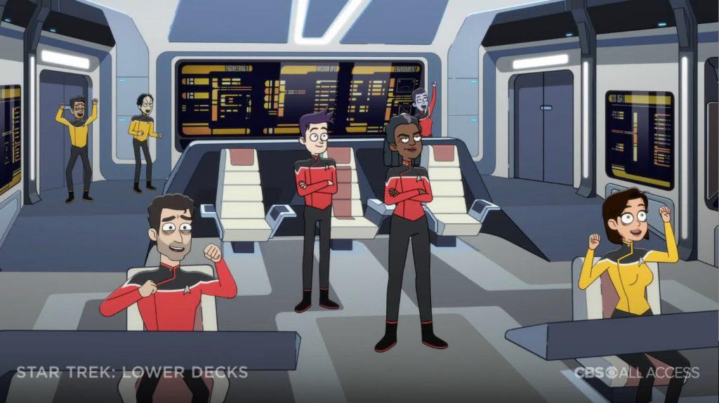 Ponte USS Cerritos - Star Trek: Lower Deck Trailer