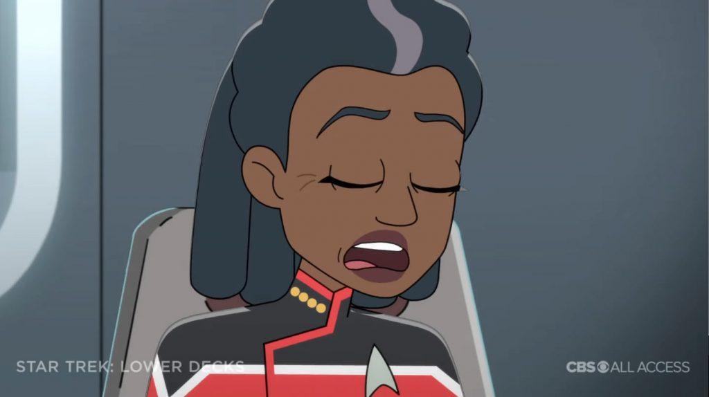 Capitão Freeman - Star Trek: Lower Deck Trailer