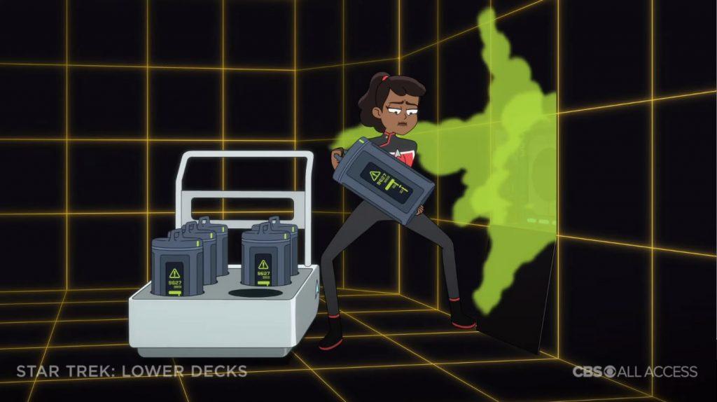 Holodeck com defeito - Star Trek: Lower Deck Trailer
