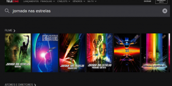 Filmes de Jornada nas Estrelas estão no Telecine Play