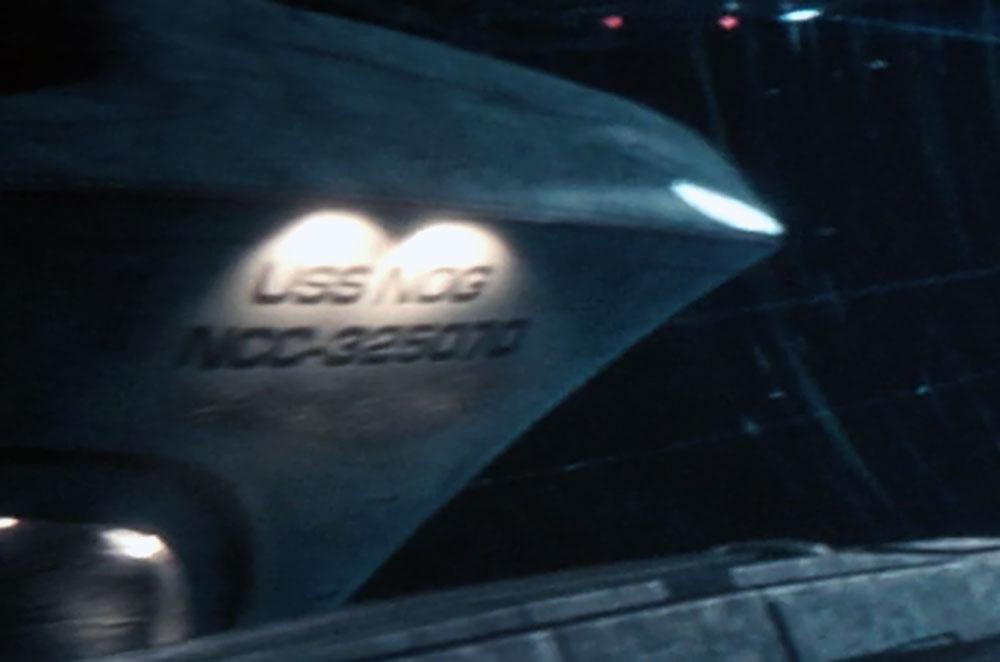 Detalhe da USS Nog