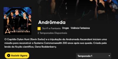 Andrômedra na Pluto TV