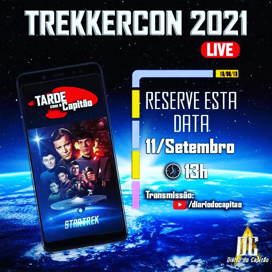TrekkerCon - Tarde com o Capitão