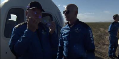 William Shatner de volta do espaço